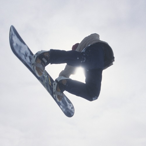 Sports answer: SNOWBOARDING