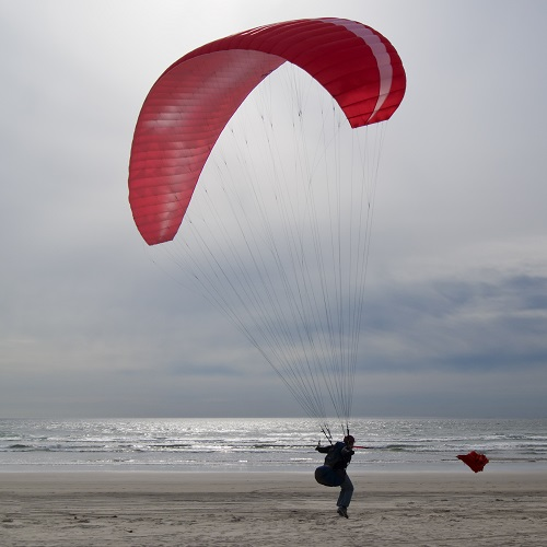Sports answer: PARAGLIDING