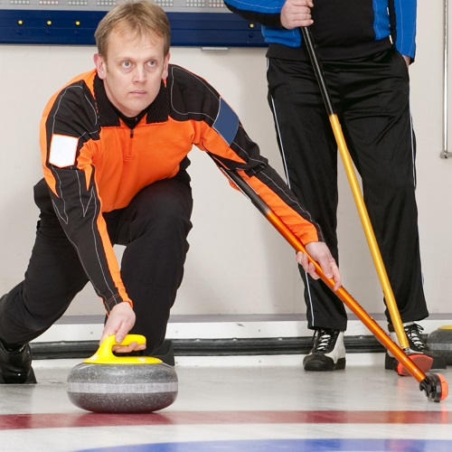 Sports answer: CURLING