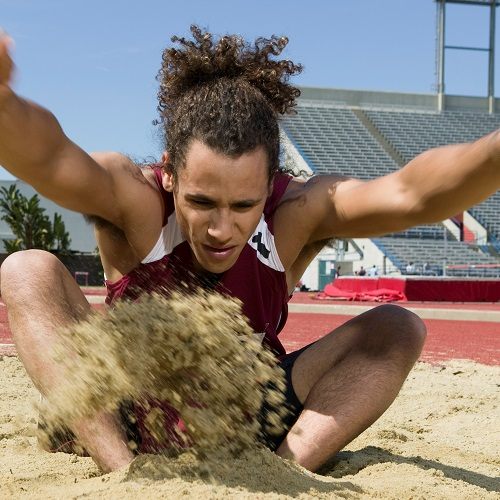Sports answer: LONG JUMP