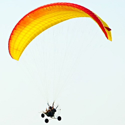 Sports answer: PARAMOTORING