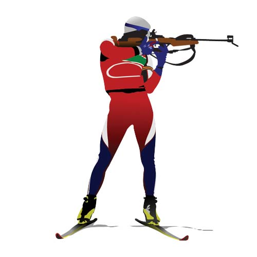 Sports answer: BIATHLON