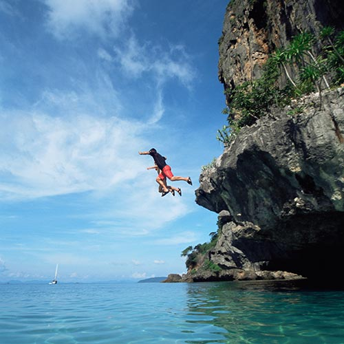 Spring answer: COASTEERING