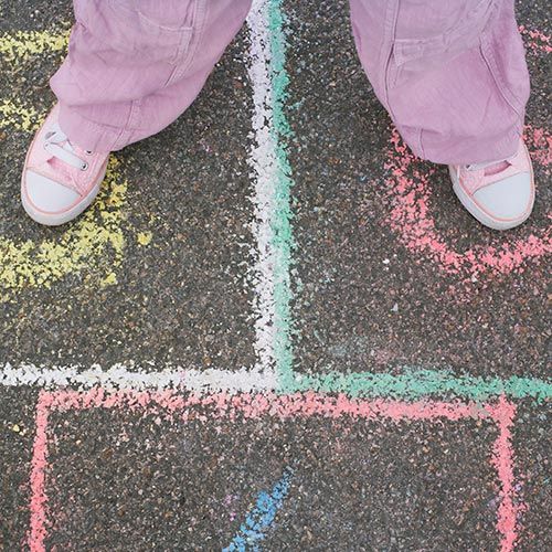 Spring answer: HOPSCOTCH