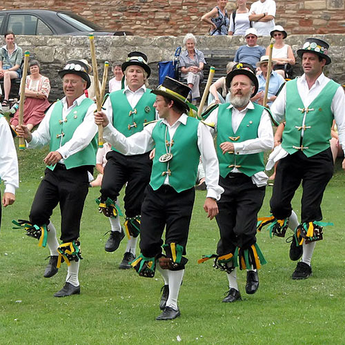 Spring answer: MORRIS DANCING