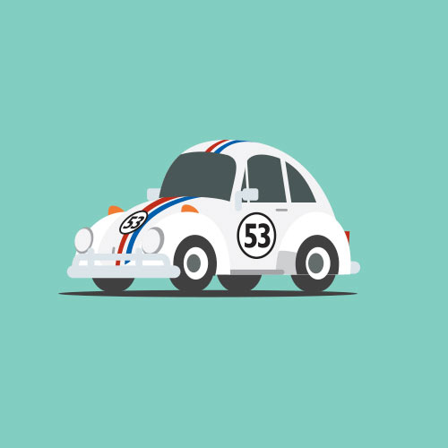 Star Cars answer: HERBIE