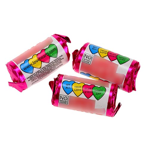 Sweet Shop answer: LOVE HEARTS