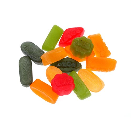 Sweet Shop answer: WINE GUMS