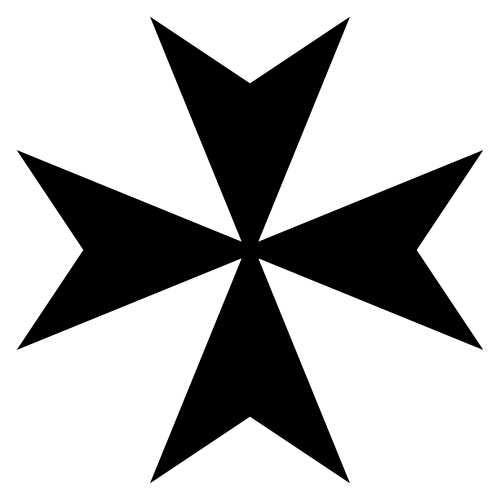 Symbols answer: MALTESE CROSS