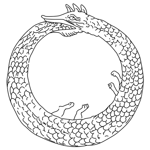 Symbols answer: OUROBOROS