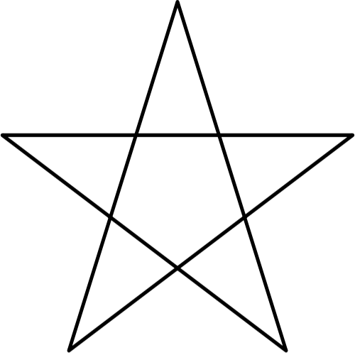 Symbols answer: PENTAGRAM