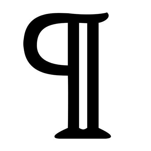 Symbols answer: PILCROW