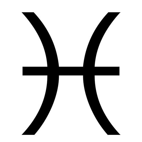 Symbols answer: PISCES