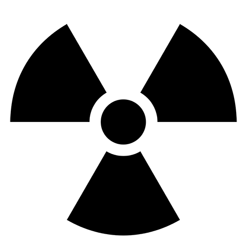 Symbols answer: RADIOACTIVE