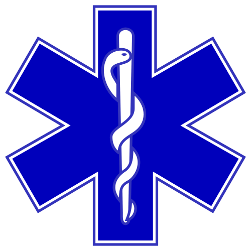 Symbols answer: STAR OF LIFE
