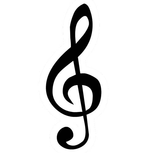 Symbols answer: TREBLE CLEF