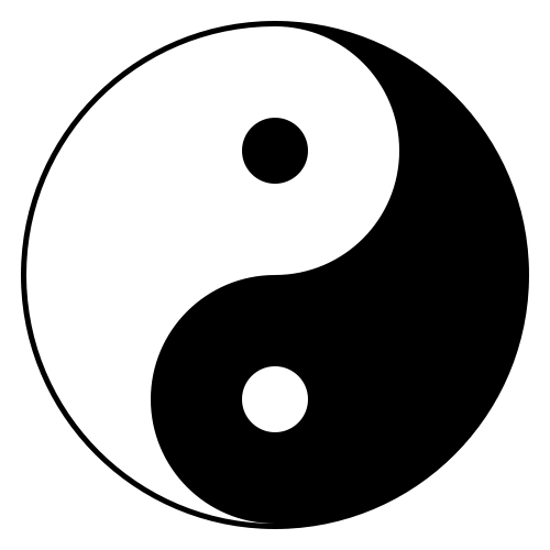 Symbols answer: YIN YANG