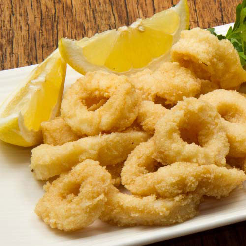 Taste Test answer: CALAMARI