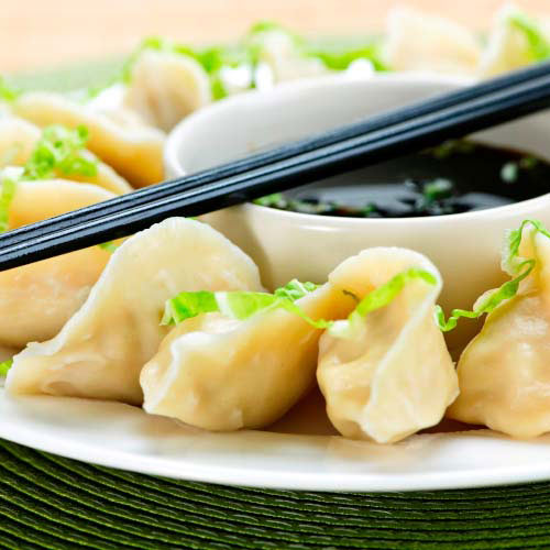 Taste Test answer: GYOZA