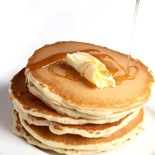Taste Test answer: PANCAKES