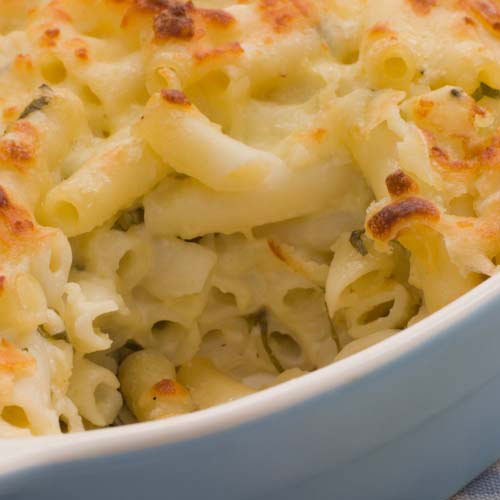 Taste Test answer: MACARONI CHEESE