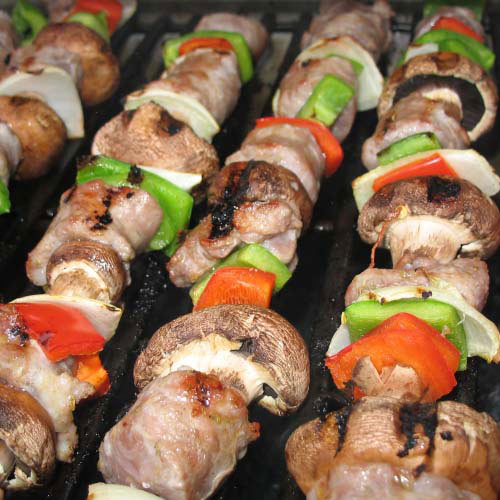 Taste Test answer: KEBABS