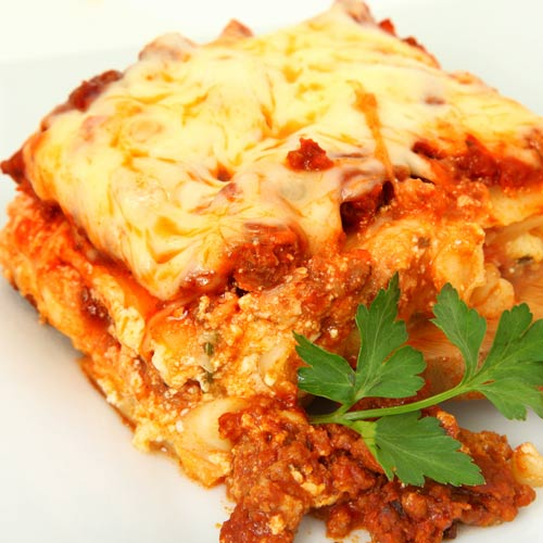 Taste Test answer: LASAGNE