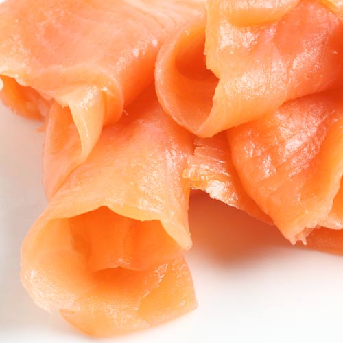 Taste Test answer: SMOKED SALMON