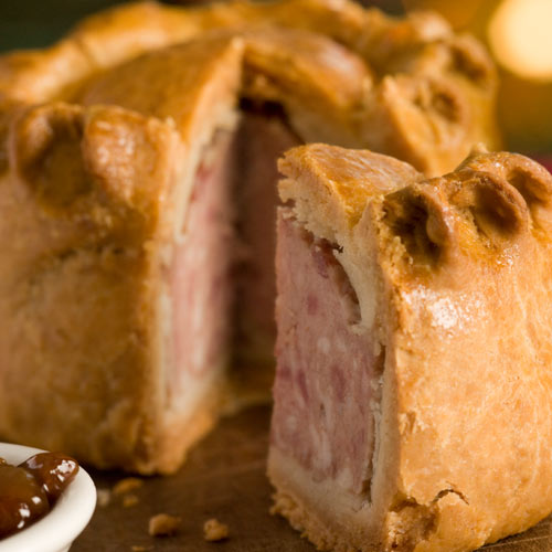 Taste Test answer: PORK PIE