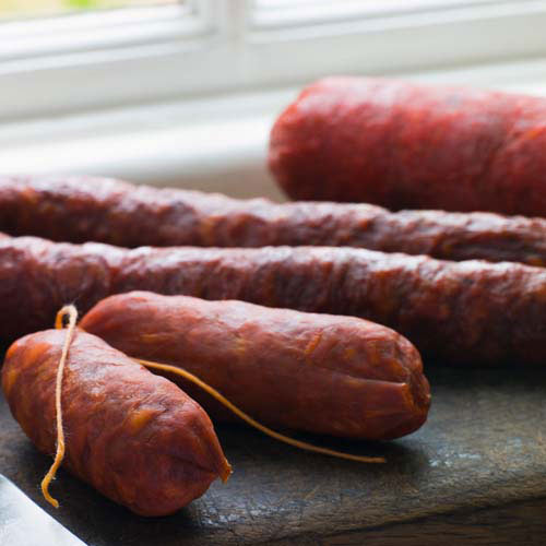 Taste Test answer: CHORIZO