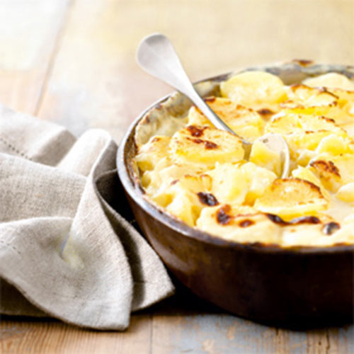 Taste Test answer: DAUPHINOIS