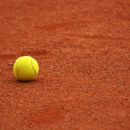 Tennis answer: CLAY
