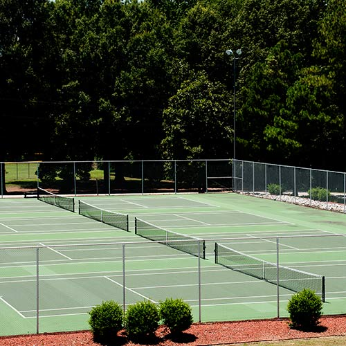 Tennis answer: COURTS