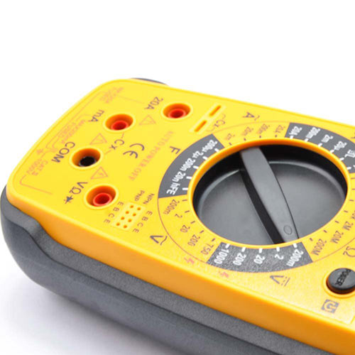 Toolbox answer: VOLTMETER
