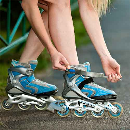 Transport answer: ROLLERBLADES