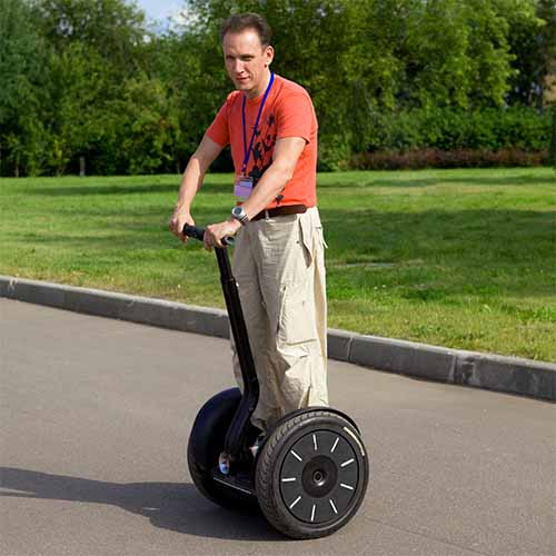 Transport answer: SEGWAY