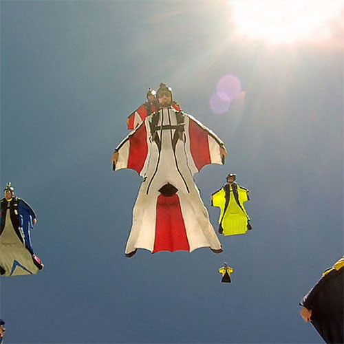 Transport answer: WINGSUIT