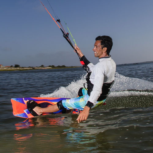 Transport answer: KITEBOARD