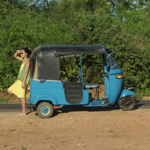 Transport answer: RICKSHAW