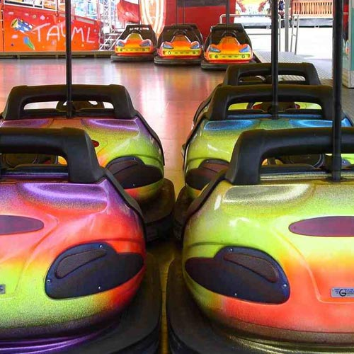 Transport answer: BUMPER CARS