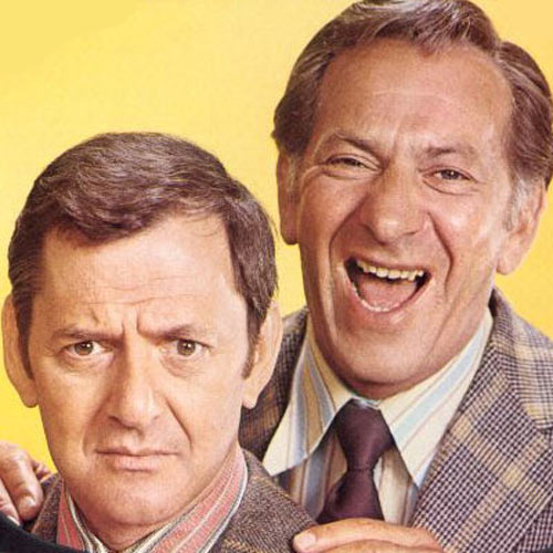 TV Shows answer: ODD COUPLE
