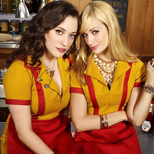 TV Shows 2 answer: 2 BROKE GIRLS