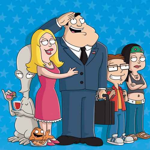 TV Shows 2 answer: AMERICAN DAD
