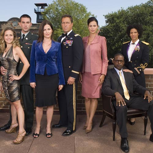TV Shows 2 answer: ARMY WIVES