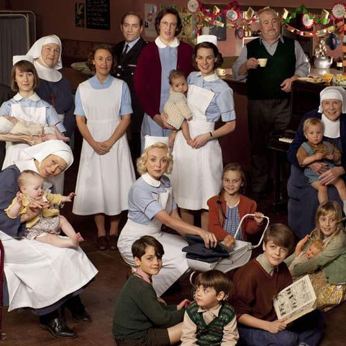 TV Shows 2 answer: CALL THE MIDWIFE