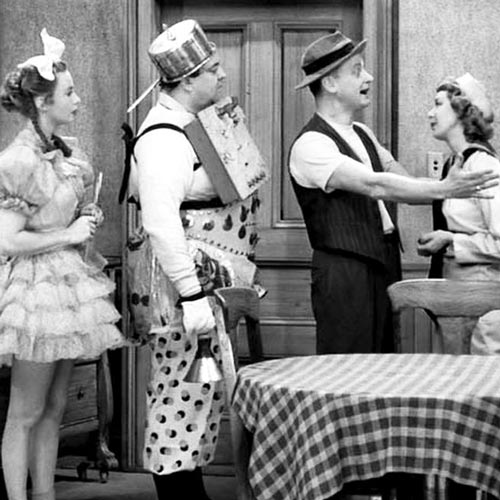 TV Shows 2 answer: HONEYMOONERS