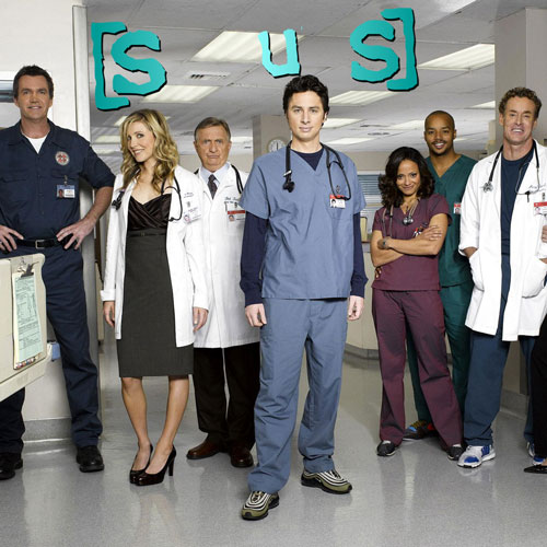 TV Shows 2 answer: SCRUBS