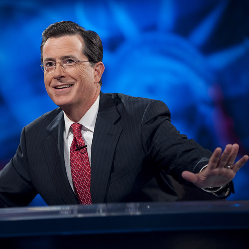 TV Shows 2 answer: COLBERT REPORT