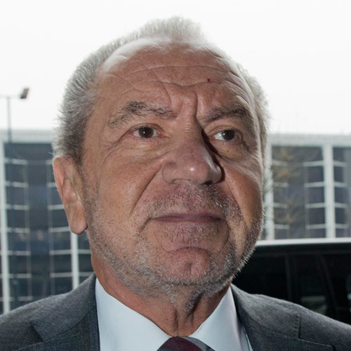 TV Stars answer: ALAN SUGAR
