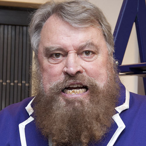 TV Stars answer: BRIAN BLESSED